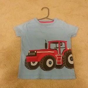Mini Boden Tractor Tshirt